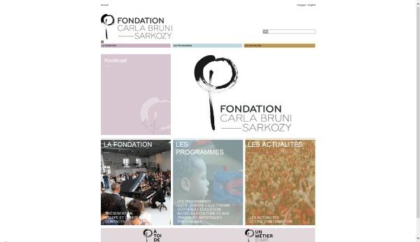 Fondation Carla Bruni Sarkozy