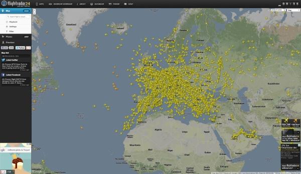 traifc aerien mondial