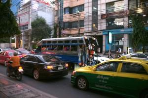 Scène de rue à Bangkok - Copyright S.Casanova, ne pas copier